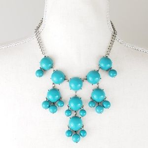 Jewelry - Bold Turquoise Statement Necklace